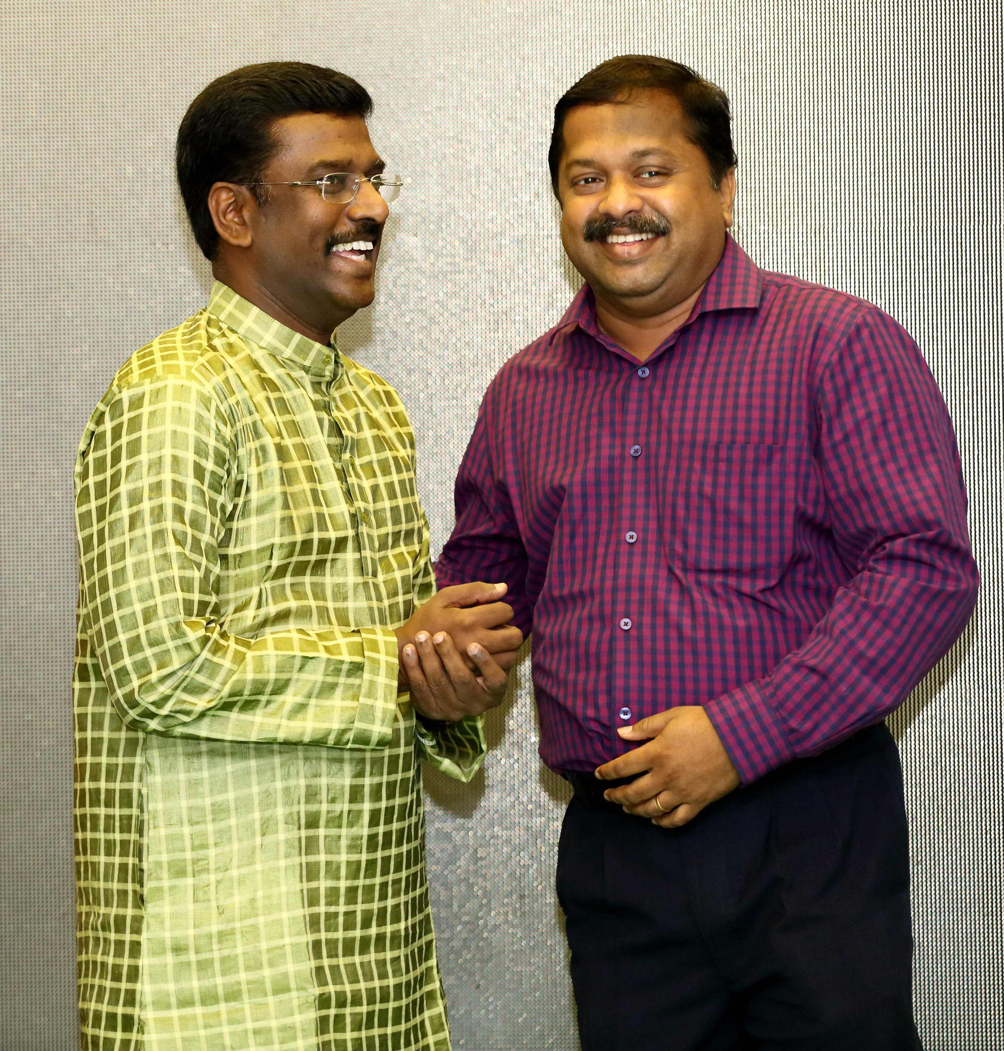 Mr.Kathiravan with Dr.Sivaraman Siddha Specialist