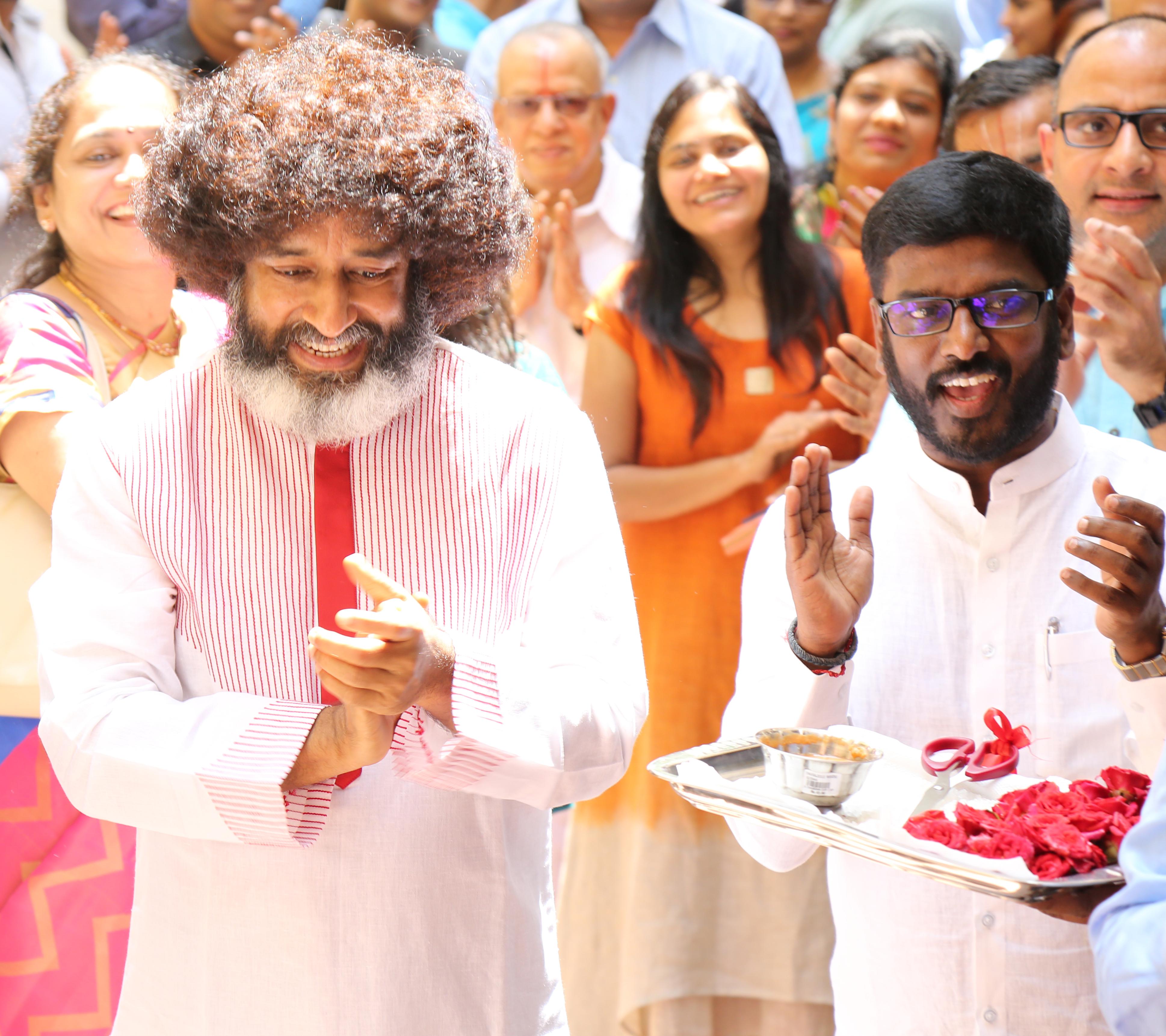 Mr.Kathiravan Venu  with Mahatria