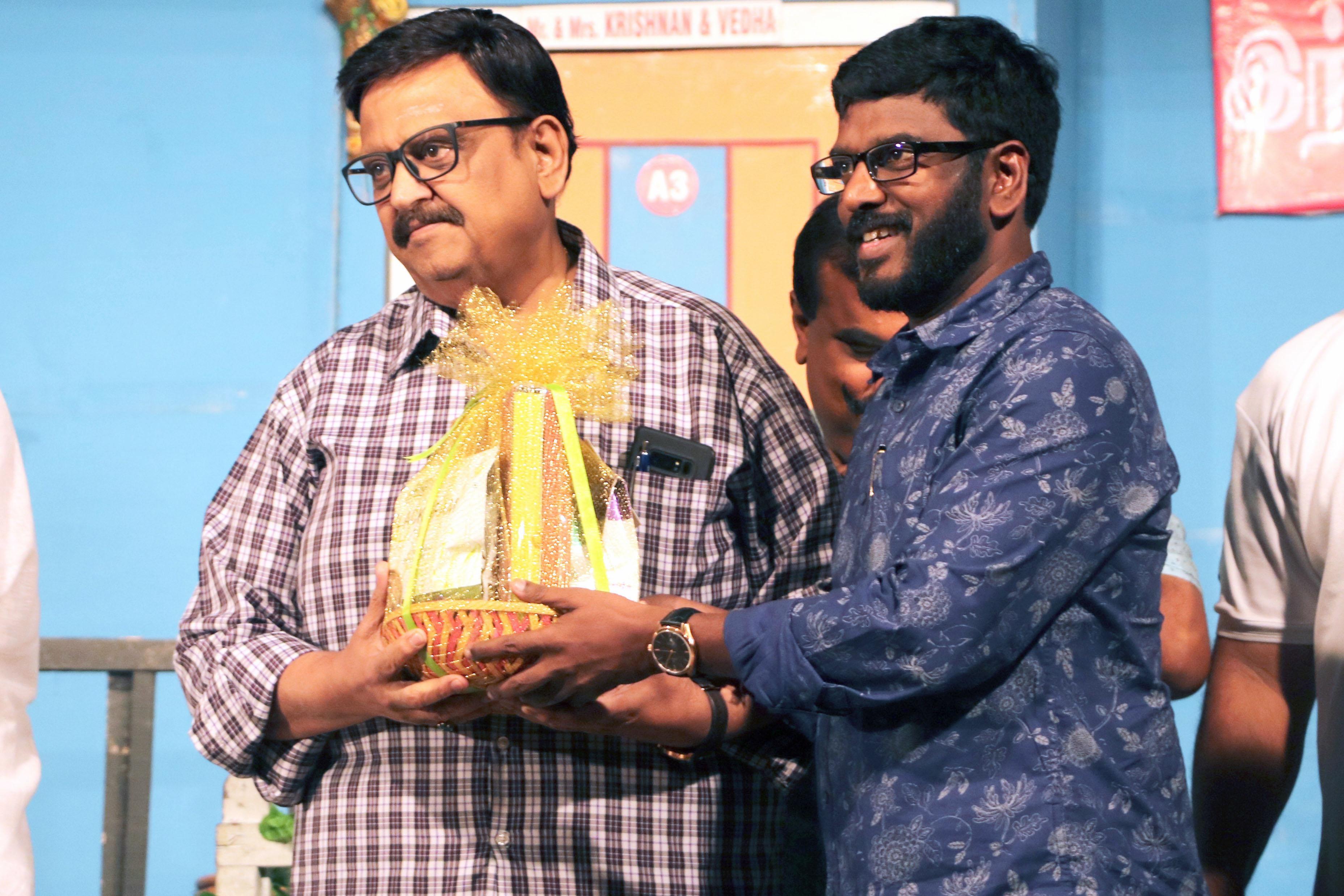 Mr.KATHIRAVAN with Singer S. P. BALASUBRAHMANYAM