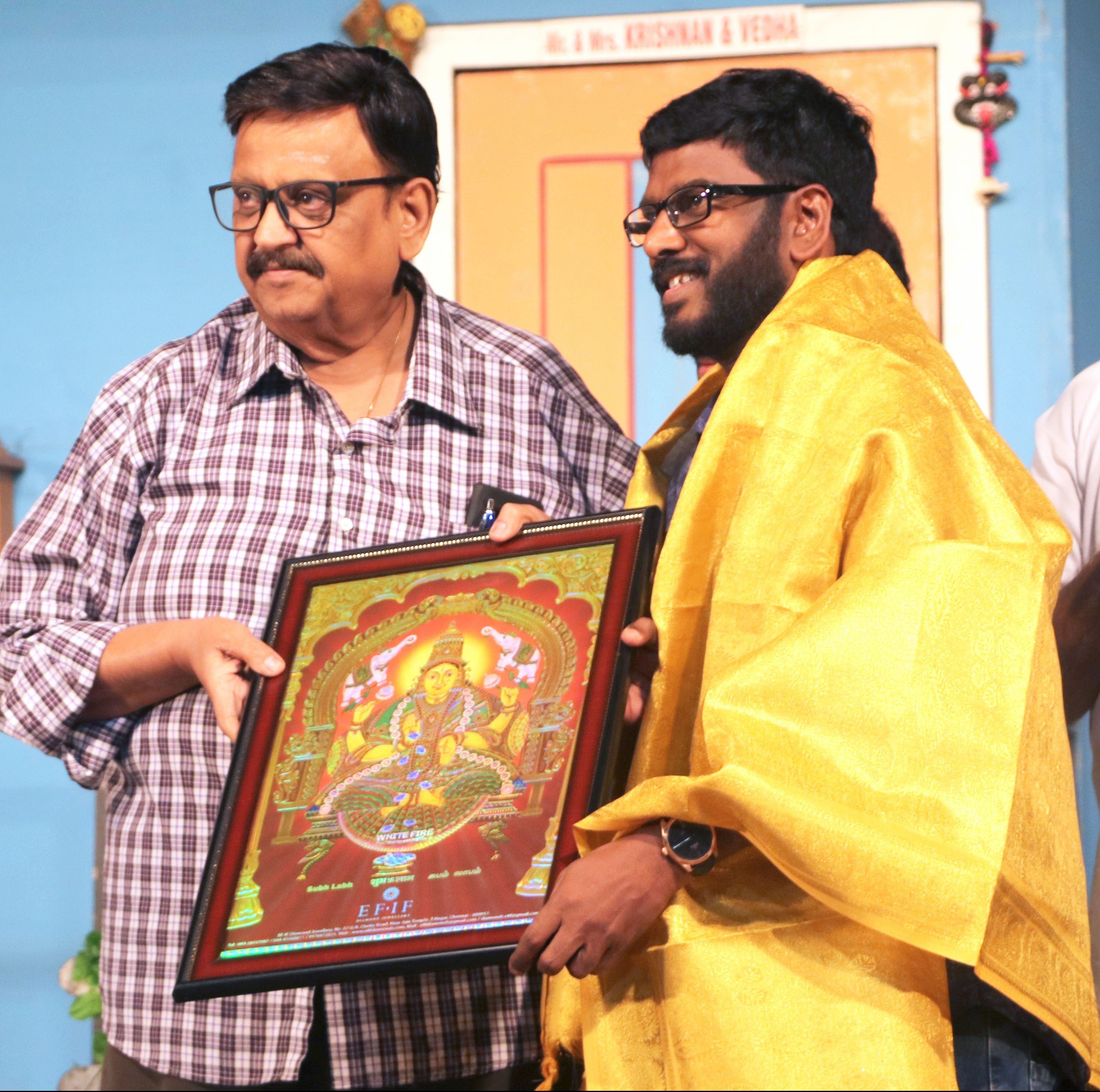 MR.KATHIRAVAN WITH Singer S.P.BALASUBRAHMANYAM