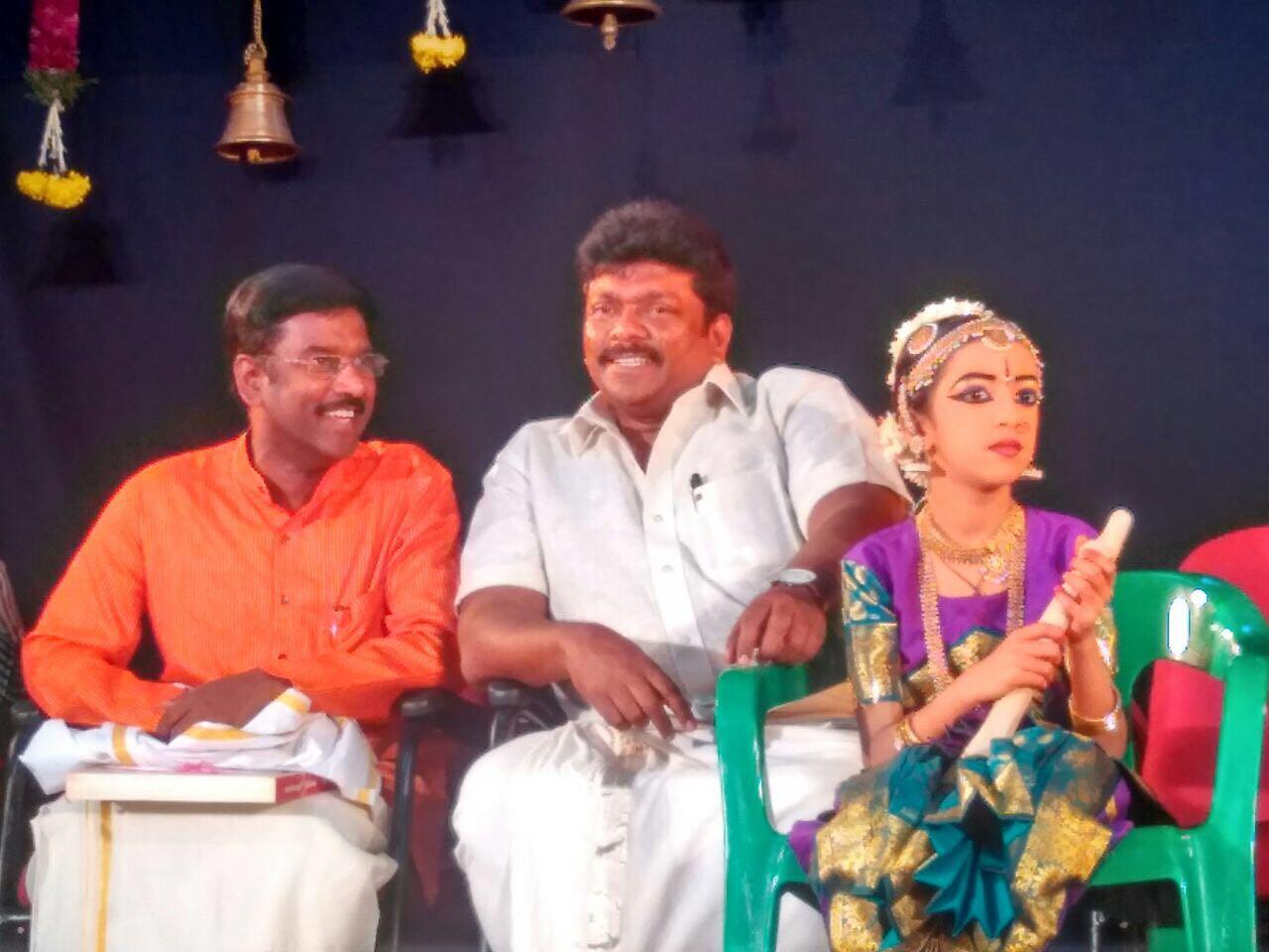 K.V. Kathiravan with Actor & Director Mr. Parthipan