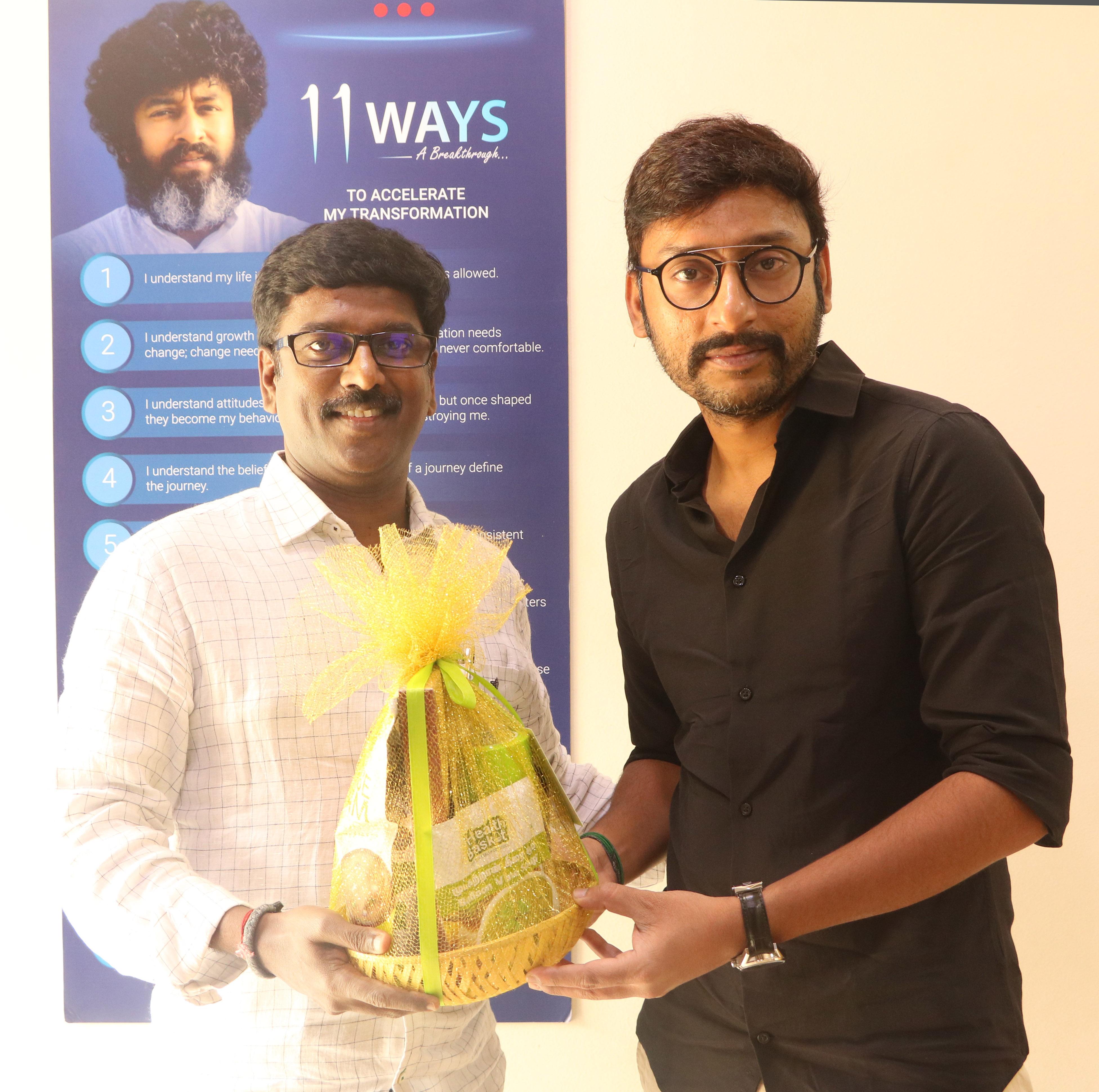 Mr. Kathiravan With RJ Balaji