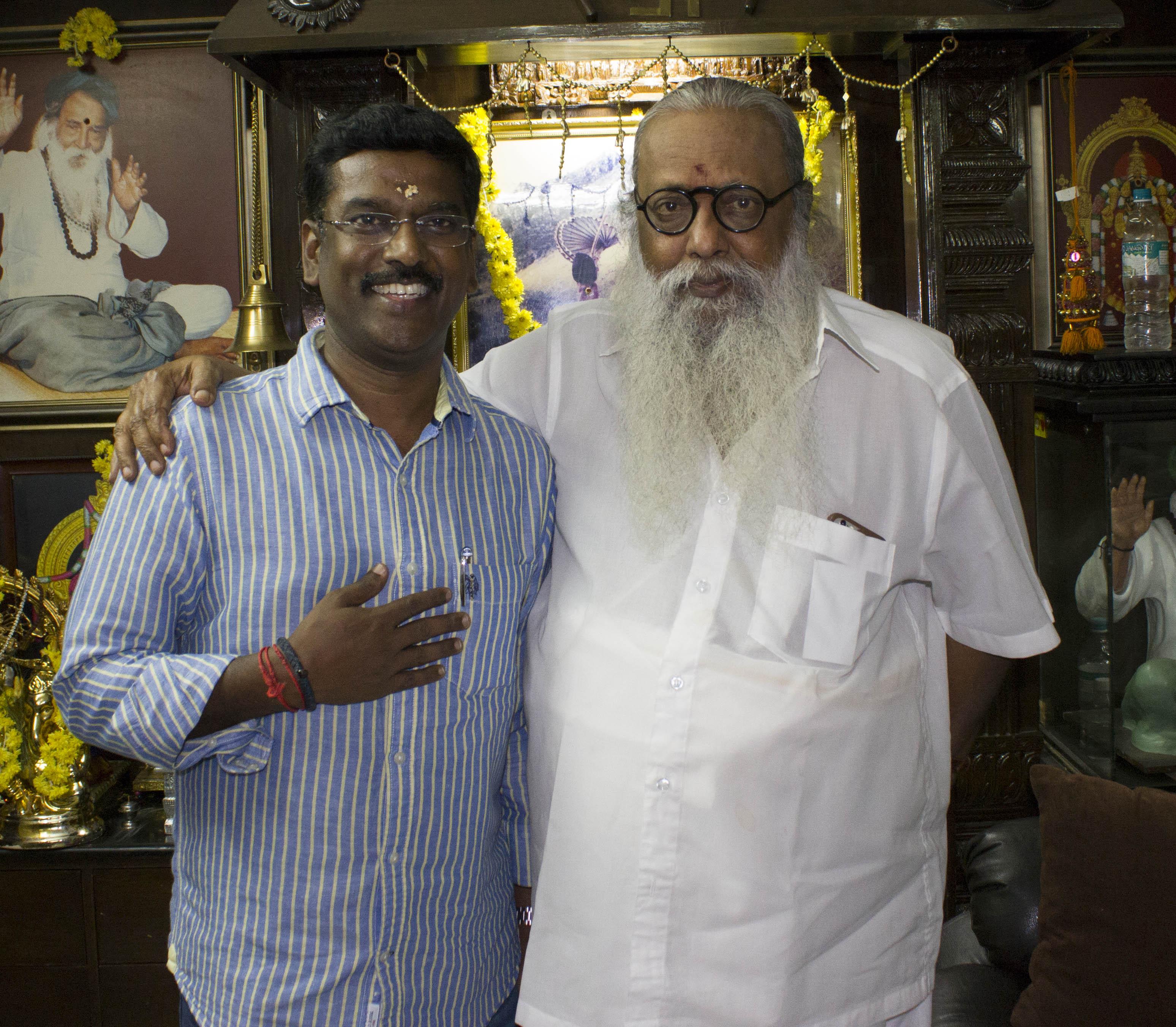 Mr.Kathiravan With Ezhuthu Chithar Mr. Balakumaran